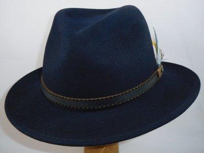 Stetson outdoorhoed 'Valrico' blauw