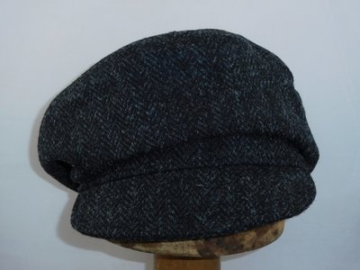Bronte damespet 'crossover' Harristweed antraciet