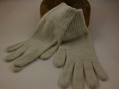 Bronte handschoen wol creme