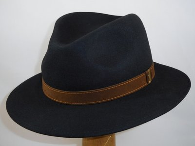 Borsalino Alessandria black 'New Outdoor model'