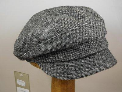 Bedacht damespet tweedspikkel grijs