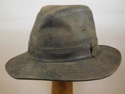 Hatland hoed leder bruin