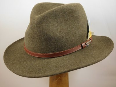 Stetson outdoorhoed 'Traveller' groen mix