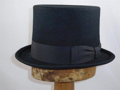 Fiebig hoge hoed zwart