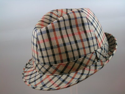 Hats&Dreams Trilby / Ruit Beige