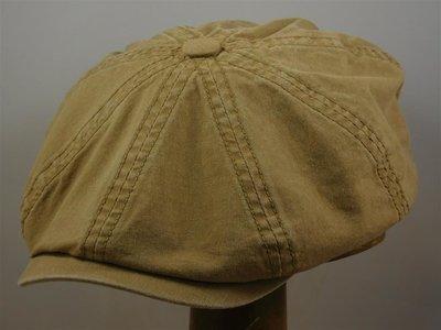 Stetson ballonpet 'Hatteras' organic cotton beige
