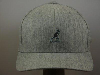 Kangol Baseballcap Flexfit / Lightgrey