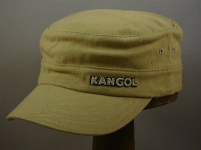 Kangol cap 'Army Twill Cotton' / Beige