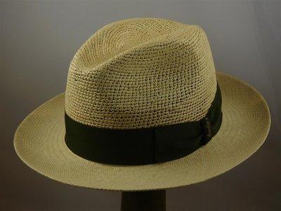 Borsalino Panama Bogart crochet naturel
