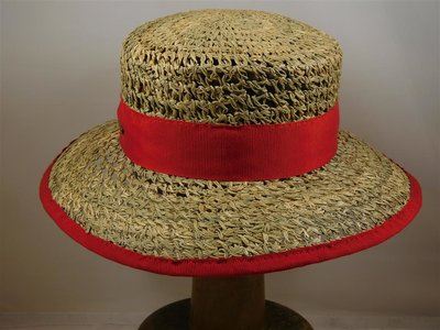 Hatland raffia mateloo rood