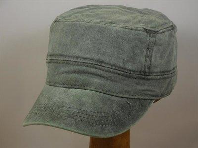 Fiebig army cap 'gewassen katoen' olive