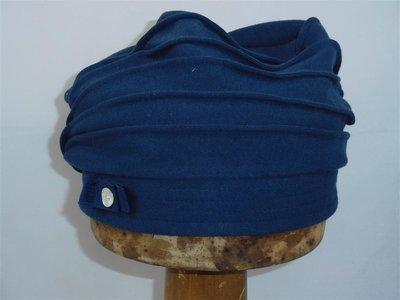 Bedacht Katoenen Baret/muts blauw