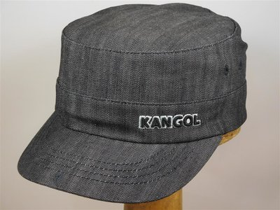 Kangol cap 'Army Twill Cotton' denim