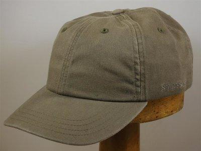 Stetson 'Rector' Cotton Baseballcap khaki