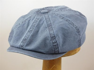 Stetson 'Hatteras' Organic Cotton / Jeansblue 2