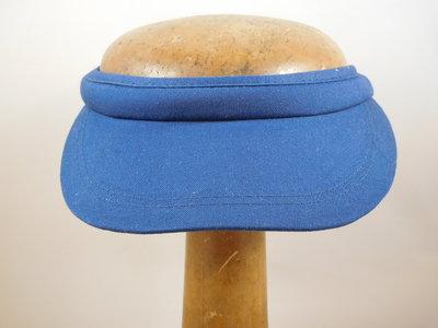 Fiebig Zonneklep met beugel / marine blauw