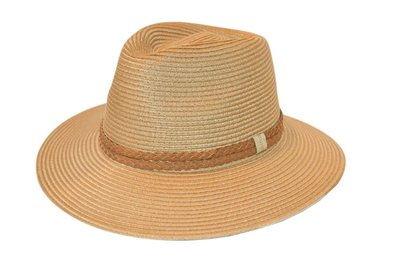 House of Ord GERRY brede rand Fedora CAMEL