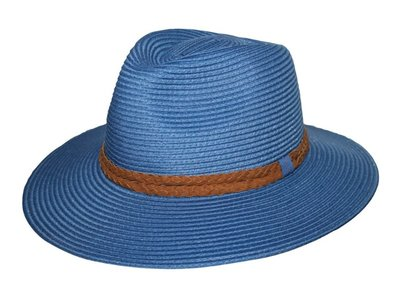 House of Ord GERRY brede rand Fedora BLUE