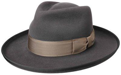 Stetson Andalusia Amish Furf Felt Fedora Grey