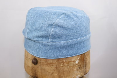 Jos van Dijck kinder zomer bandana Jeansblauw