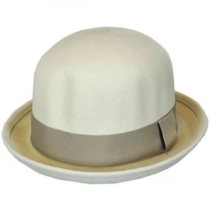 Brixton Womens Pack Bowler Hat IVORY