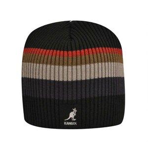 Kangol Beanie PullOn Stripe Rib BLACK