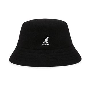Kangol Wool Lahinch Bucket BLACK
