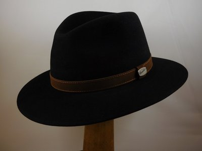 Borsalino 'Country' Nero