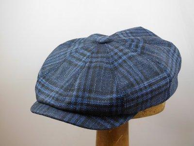 Stetson  Hatteras  Cerruti Wool Silk   Indigo 51a3be97461a