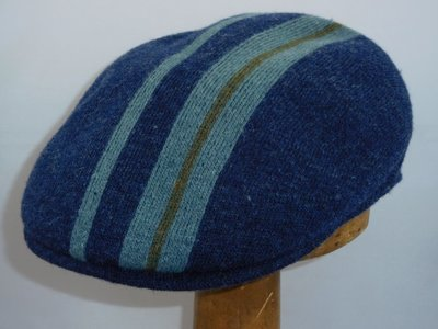 Kangol 504 identety stripe blauw