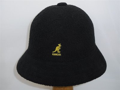 Kangol Bermuda Casual BLACK and GOLD