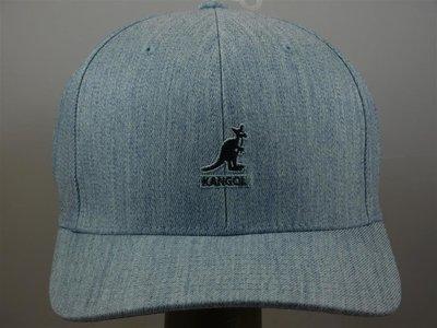 Kangol baseballcap flexfit light blue