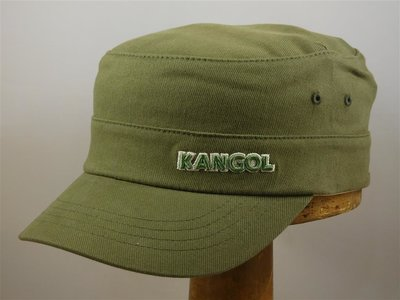 Kangol cap 'Army Twill Cotton' khaki groen