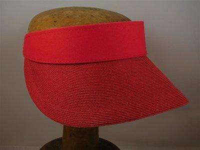 Bronte zonneklep 'Evy' rood