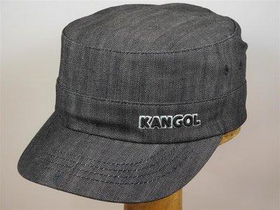 Kangol 'Denim Army Cap' Flexfit BLACK